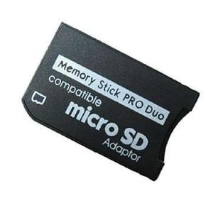 Adaptador De Micro Sd A Memory Stick Pro Duo Para Psp Sony