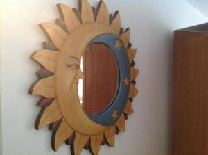 Espejos con marco en vitro mosaico posot class for Espejos decorativos en madera