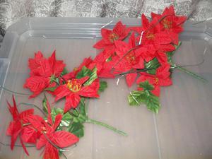Flores Rojas De Navidad Para Decoracion