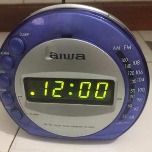 Radio Reloj Despertador Aiwa