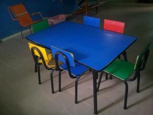 Mesa para preescolar posot class for Mesas para preescolar