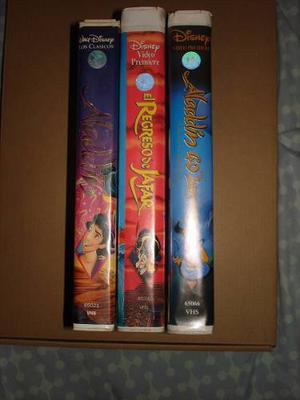 Aladdín Pelicula Disney Vhs Coleccion Vintage