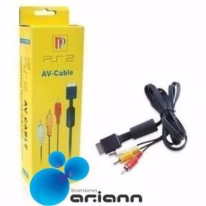Cable Av Rca Audio Video Playstation Ps1 Ps2 Ps3 1.8 Mt Nuev
