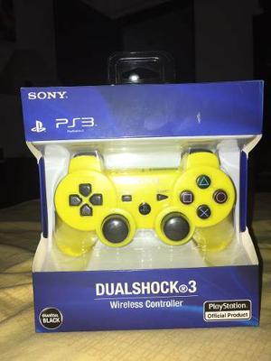 Combo:controles Dualshock 3 (ps3) Con Un Cable Cargador