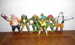 Figuras O Muñecos Tortugas Ninjas Coleccion Completa