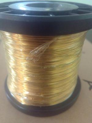 Hilo De Oro Laminado Brasileño 18k 0.40 Mm 300 Gr