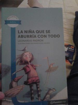 La Nina Que Se Aburria Con Todo De Jose Leonardo Padron