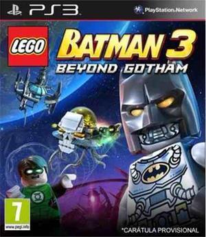 Lego Batman 3 Beyond Gotham Ps3. Entrega Inmediata