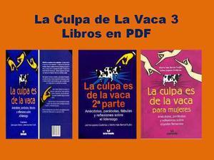 Libro La Culpa De La Vaca (3 Libros En Pdf)
