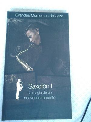 Libro Y Cds De Música Saxofón Momentos Del Jazz Colección
