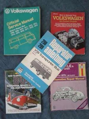 Manuales Varios Volkswagen Enfriados Por Aire