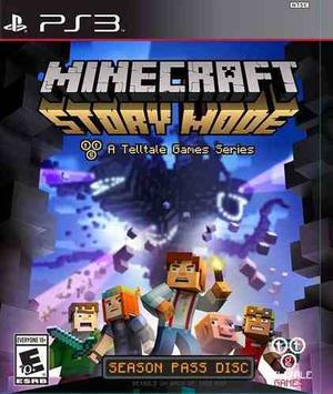 Minecraft Story Mode Descarga Licencia Digital Original Ps3