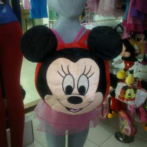 Morral Peluche Mickey Mouse Winnie Pooh