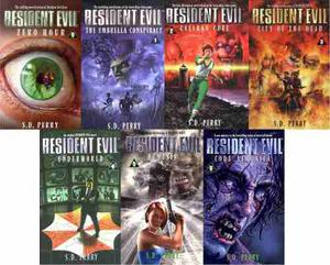 Pack De Libros Digitales Pdf De Resident Evil