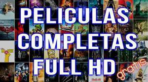 Películas En Hd Y Series Completas