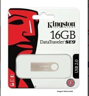 Pendrive Kingston 16 Gb Data Travel Se9 Original