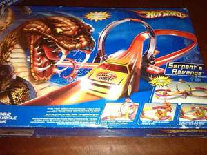 Pista Hotwheels Serpents Revenge