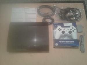 Playstation 3 (super Slim) Con Todos Sus Accesorios (250gb)
