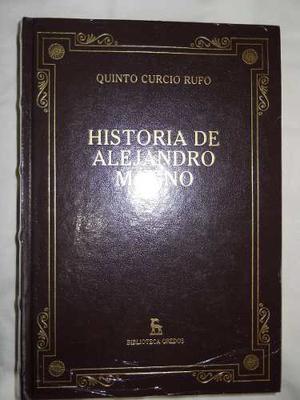 Quinto Curcio Rufo Historia De Alejandro Magno Gredos