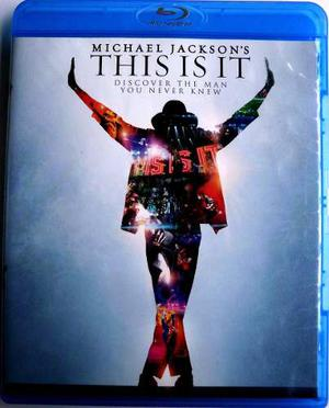 This Is It. Solo Ingles!! Bluray.