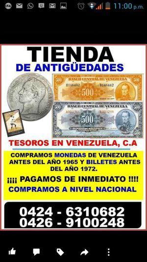 Tienda Antiguedades Monedas Billetes