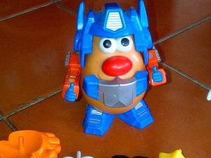 Toy Story Disney Señor Cara De Papa Y Papa Transformer