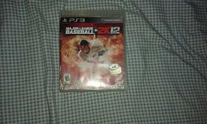 Vendo Juego De Baseball 2k12 Para Ps3.