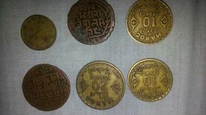 Vendo O Cambio Monedas Antiguas De Varios Paises