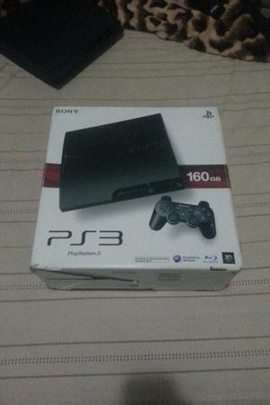 Vendo O Cambio Play3 Slim De 160gb Con 5 Juegos Y Un Control