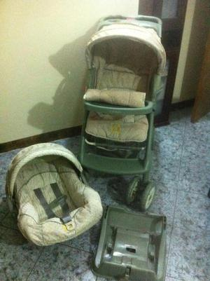 Coche para y silla porta bebe posot class for Coches con silla para bebe