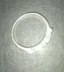 anillo de compromiso de plata 925 con piedras