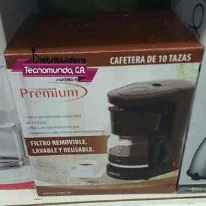Cafetera Eléctrica 10 Tazas Premium