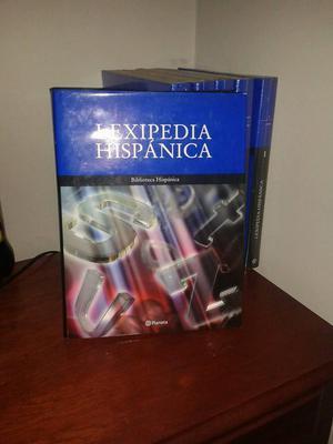 Enciclopedia De 6 Tomos Lexipedia Hispanica diccionario