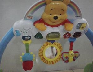 Gimnasio Para Bebes 2 En 1 De Winnie The Pooh (interactivo)