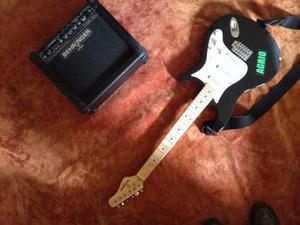 Guitarra Electrica Behringer Stratocaster Con Amplificador,