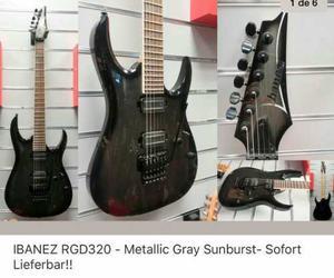 Guitarra Ibanez Rgd320 Metallic Gray Sunburst Sofort Liebart