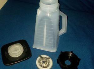 Kit Licuadora Oster Vaso Plastico Irrompible,cuch,rosca,tapa