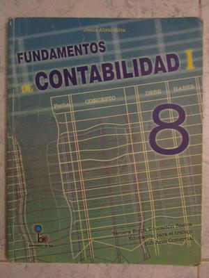Libro de Contabilidad 8vo grado Editorial COBO