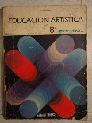 Libro de Educación Artística 8vo grado Editorial LARENSE