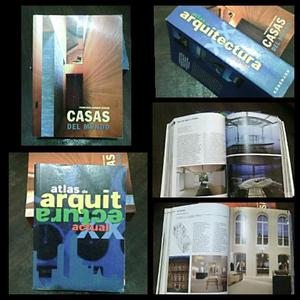 Libros de Arquitectura 2 x 1 Atlas de Arquitectura y Casas
