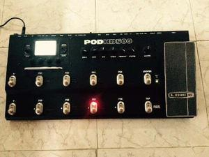 Pedalera Line 6 Pod Hd500 Para Guitarra Electrica