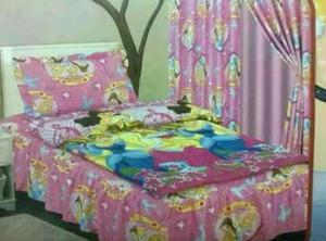 Sabanas con cortinas motivos infantiles posot class for Sabanas de calidad