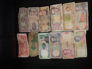 colecion billetes antiguos