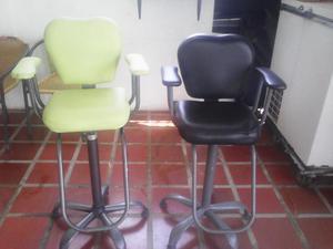 Con apuro en venta 4 sillas de peluqueria posot class - Sillas de espera para peluqueria ...
