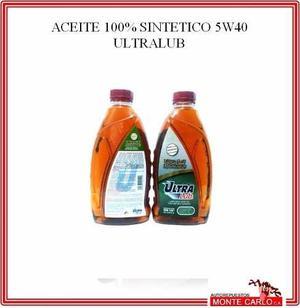 Aceite 5w40 Full Sintetico (ultralub) **tienda**