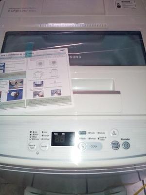 Lavadora Nueva, Marca Samsung, 6 Kg