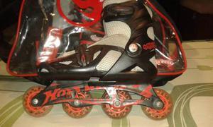Patines En Linea Hotwheels Usados