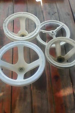 Poleas De Lavadora Plastica Doble Tina