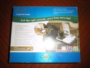 Alimentador Automático Para Mascotas Eatwell De 2 Platos