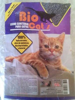 Arena Para Gato 5 Kilos Marca Bio Cats
